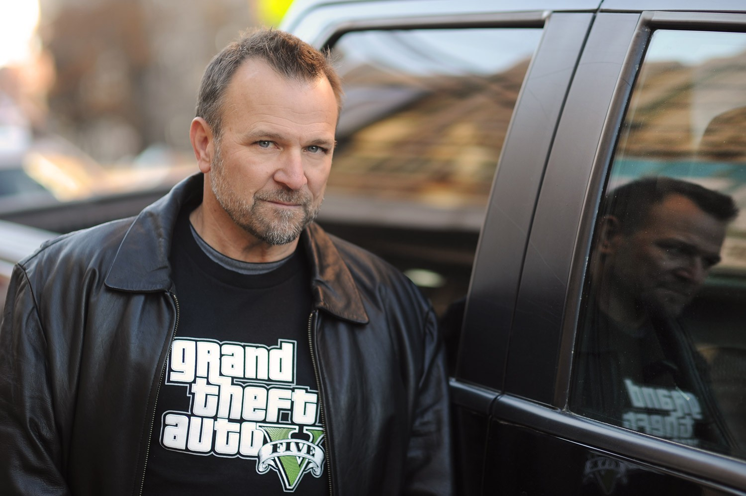 "Ned Luke ""Grand Theft Auto"""