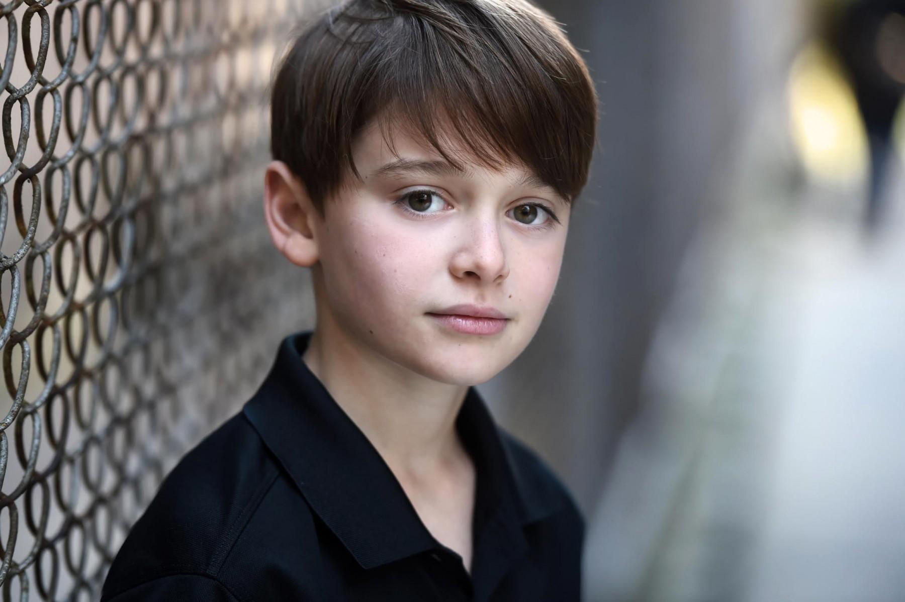 Noah Schnapp Actor Headshots Jordan Matter Photography